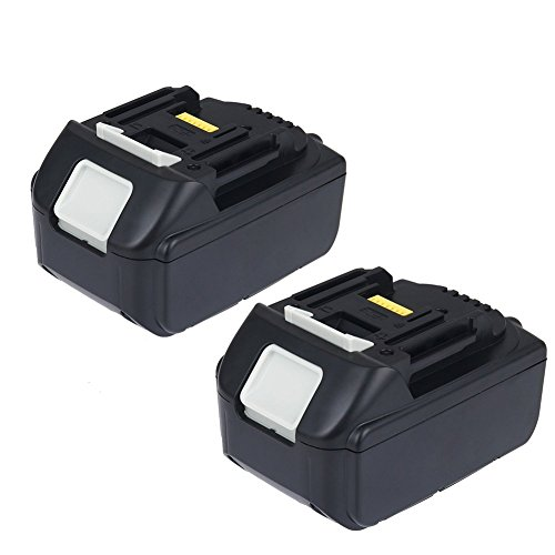 Bingogous 2-Pack 18V 5.0AH LXT Lithium-Ion Replacement Battery for Makita BL1850 BL1840 BL1830 LXT-400 194204-5 Cordless Power Tools by Bingogous