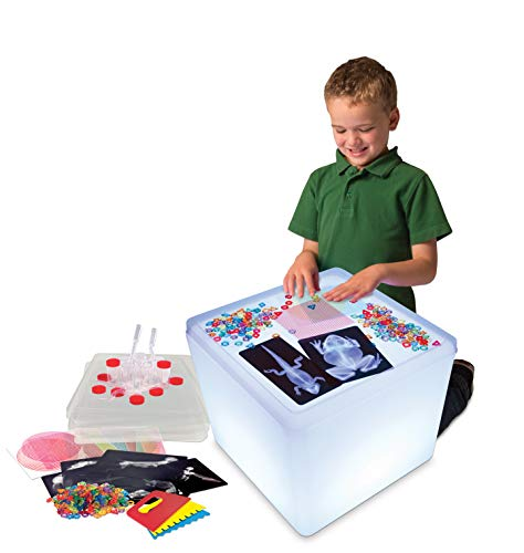 Roylco Educational Light Cube Accessory Kit, Glowing Light Table Starter