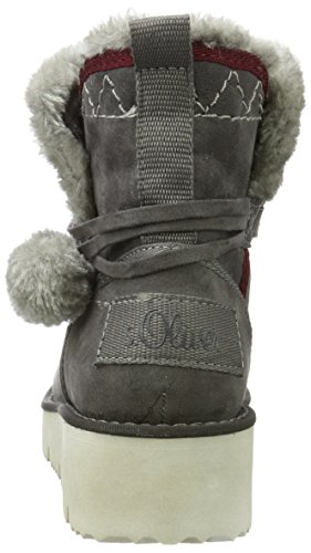 oliver Slouch antracite 26424 S Grigio Donne Stivali Delle wEW4Rn7qUp