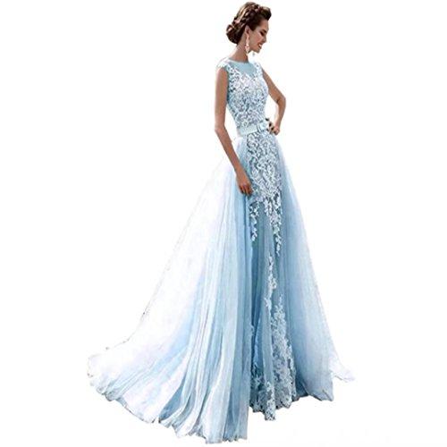 issa blue lace dress - 7