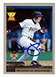 Warren Morris autographed Baseball Card (Pittsburgh Pirates) 2000 Topps #39 All Star Rookie