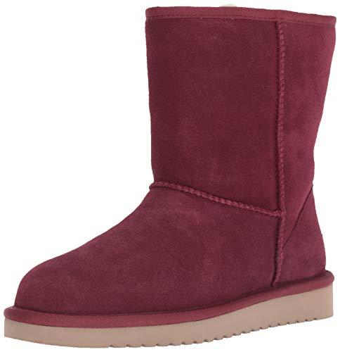 - Koolaburra by UGG Women's W Koola Short Fashion Boot, Zinfandel, 08 Medium US