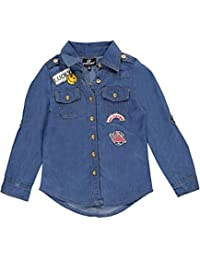 "Dollhouse Big Girls' ""Free to Be Me"" Button-Down"