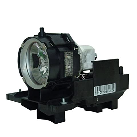 GloWatt DT00771 / CPX605LAMP Projector Replacement Lamp With Housing for Hitachi Projectors (Replacement Lamp Hitachi Dt00771)