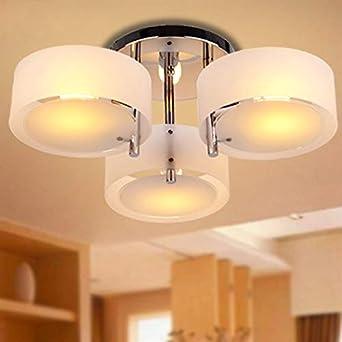 Lámpara de techo -Homelava Lámpara de techo con 3 Luces Techo luz ...