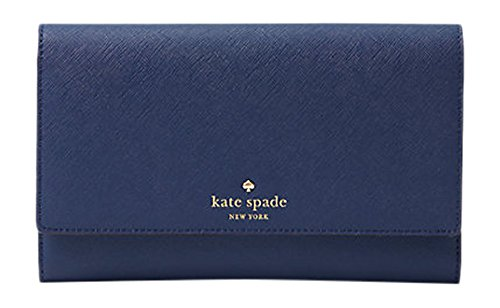 Kate Spade New York Mikas Pond Phoenix Trifold Wallet Oceanic Blue by Kate Spade New York