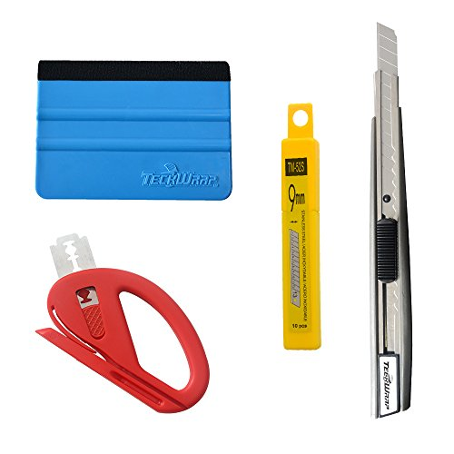 7MO Vehicle Vinyl Film Tool Kit for Car Wrapping 1 Set ()