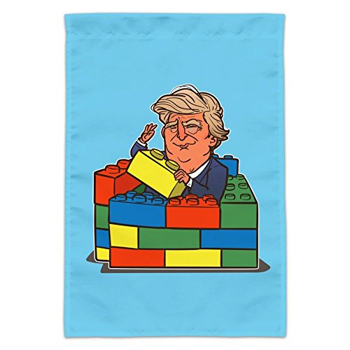 Graphics and More President Trump Building Toy Wall Blocks B