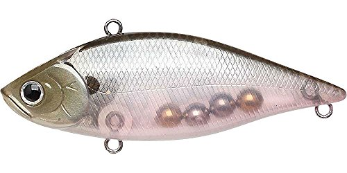 Lucky Craft Fishing Lure LV-500 Crank Bait, Ghost Minnow, 3-Inch (75mm) ()