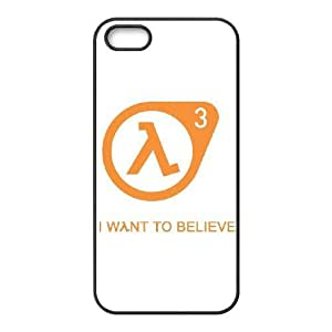HD Beautiful image for iPhone 5 5s Cell Phone Case Black half life 3 10587 HOR8274531