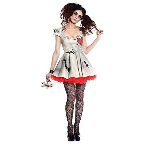 Tftw Voodoo Doll Costume Adult Halloween Fancy Dress]()