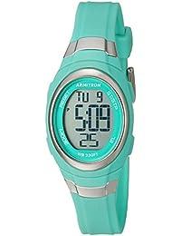 Women's 45/7034TEL Digital Chronograph Matte Teal Resin Strap Watch