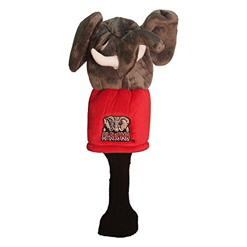 NCAA Alabama Crimson Tide Mascot Head Cover Alabama Crimson Tide Embroidered Golf Ball