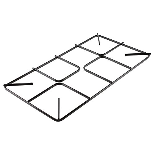 Spares2go Flat Gas Hob Pan Support Grid For Leisure Oven Cookers (455mm x 250mm, Large)