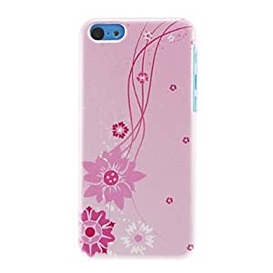 PEACH Pink Sun Flowers Pattern Hard Case for iPhone 5C