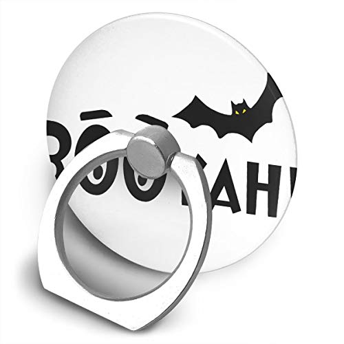 Elliptical Plastic Phone Holder Booyah! Batty Halloween 360 Degree Rotation Foldable Suitable for All Phones and Tablets]()