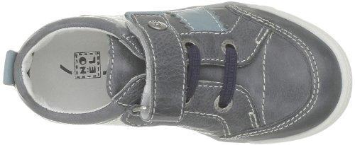 NOENE - RYWAN - Zapatillas de casa de cuero para niño Azul (Bleu (19 Marine))