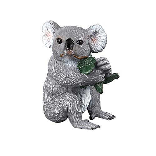 Vibola Action Figure Cute Animal Toy,Koala Figurine Model,Ornament Toys for Boys and Girl Kids,Realistic Animals Action Model (D)