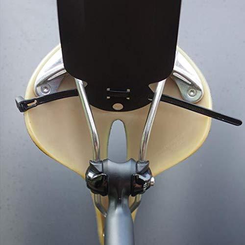 RideGuard Road Bike Rear Ass Fender Guard Clip On CP1 Purple Mudguard Made In UK Block Buster