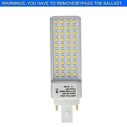 hero led g24 40s 4p dw rotatable pl c lamp g24q 4 pin led cfl rh amazon com