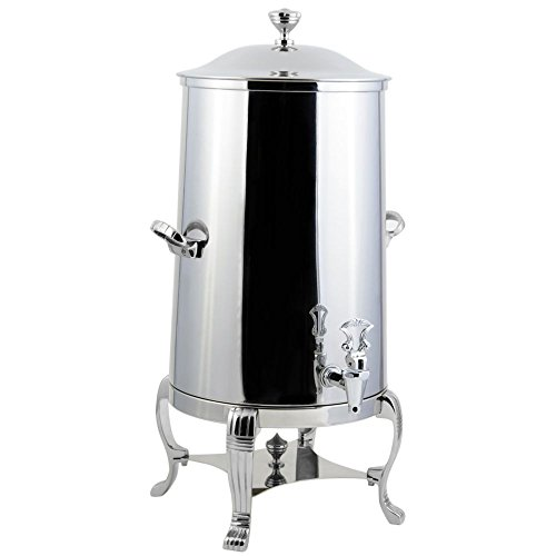 Bon Chef 40003CH Stainless Steel Aurora Insulated Coffee Urn with Chrome Trim, 3 gal Capacity, Chrome Accents by Bon Chef