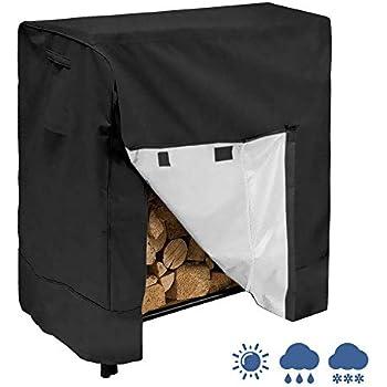 Amazon.com : SONGMICS Heavy Duty Log Rack Cover Waterproof ...