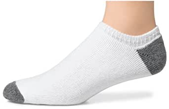 Hanes Classics Men's 6-pack Cushion Extra Low-Cut Socks, White, 6-12