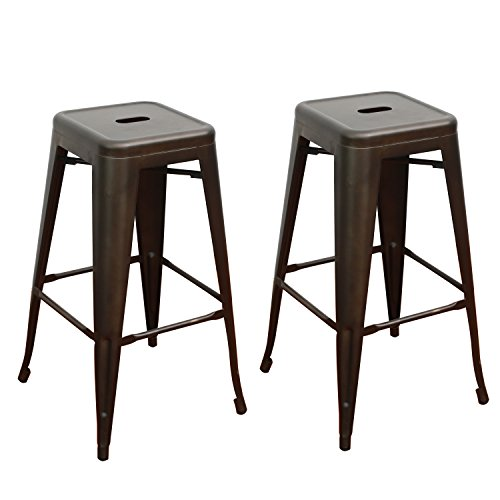 Adeco Tolix Stackable Counter Barstools product image