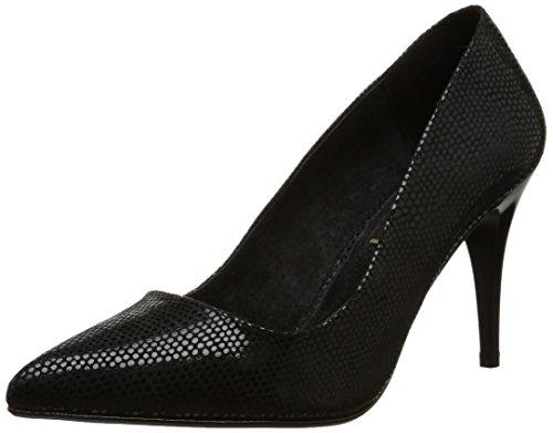 Xti 30023 - Sandalias con tacón para mujer Negro (noir)