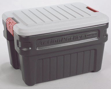 Rubbermaid FG11720238 24 Gallon ActionPacker® Storage Container (Locking Box Storage Rubbermaid)
