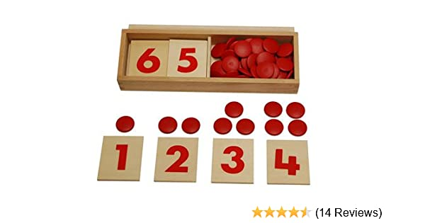 b0797393 Amazon.com: Kid Advance Montessori Cards & Counters: Toys & Games