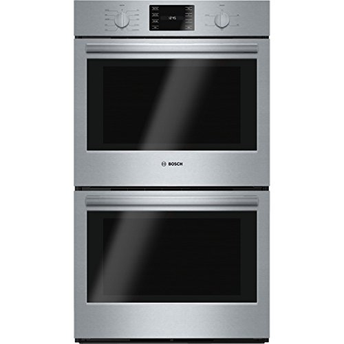 Bosch HBL5651UC 500 30″ Stainless Steel Electric Double Wall Oven – Convection