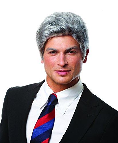 Mr. President Gray Wig