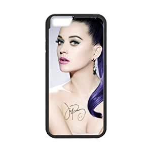 Katy Perry Solid Rubber Customized Cover Case for iPhone 6 plus 5.5