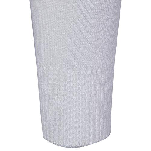 Hommes Pour Tricots À Daihan Col Pulls Blanc Fit Slim Roulé Base De XBqZx
