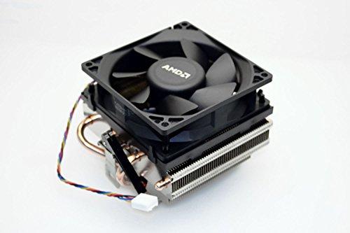 ine AMD AM3 / AM4 Socket Ryzen CPU Copper Pipes Heatsink with near silent Cooling Fan (Retention Bracket Mounting Type) ()