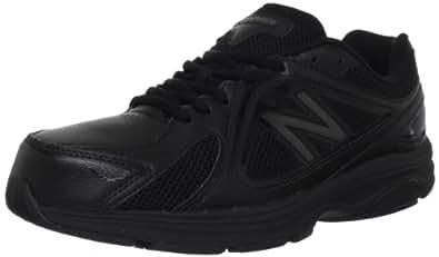 New Balance Men's MW847 Health Walking Shoe,Black,8 D US