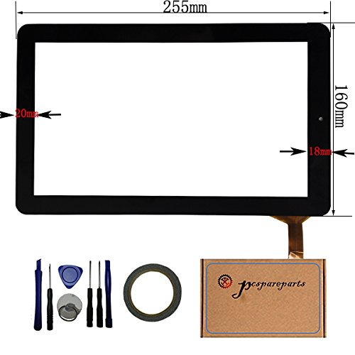 Touch Screen Lcd Panel (pcspareparts Replacement Digitizer Touch Screen Panel for 10.1 Inch Rca 10viking Pro Rct6303w87dk Rct6303w87 Tablet Pc + 8PCS OPEN TOOL)