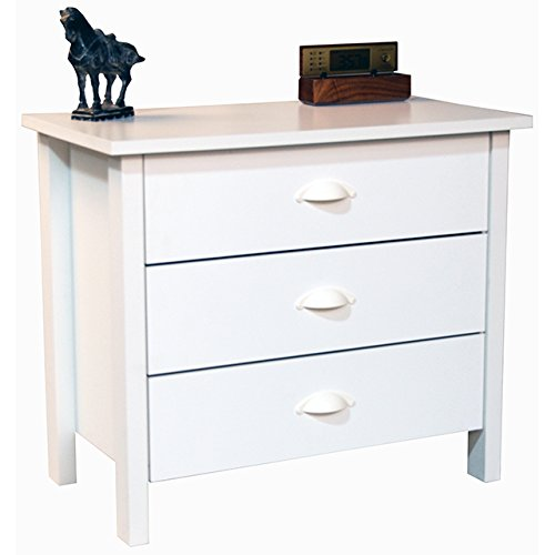 Venture Horizon 3 Drawer Chest White