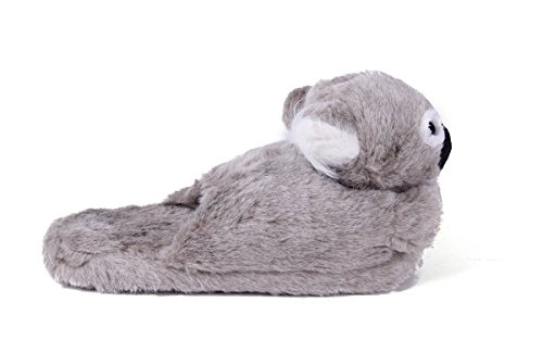 Pieds Heureux Griffes Premium Hommes Et Femmes Pantoufles Animaux Koala