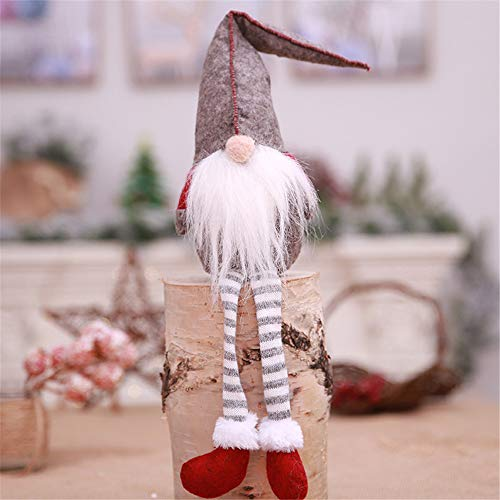 Home Decor,Pandaie Christmas Decorations Clearance 20 Inches Handmade Christmas Gnome Swedish Figurines Holiday Decoration Gifts -
