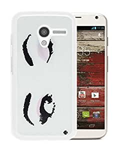 Fashionable And Unique Kate Spade Cover Case For Motorola Moto X White Phone Case 44