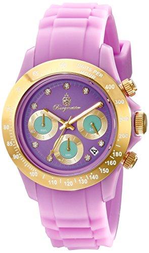 Burgmeister Women's BM514-990A Florida Analog Chronograph Watch
