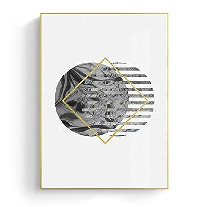 Hdwallart Scandinave Géométrique Toile Affiche Motivation