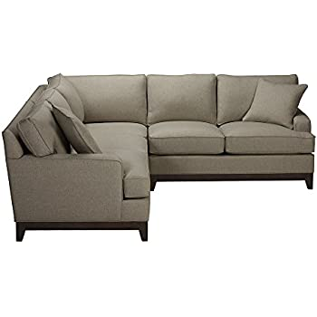 Amazon Com Ethan Allen Marcus Three Piece Sectional Left