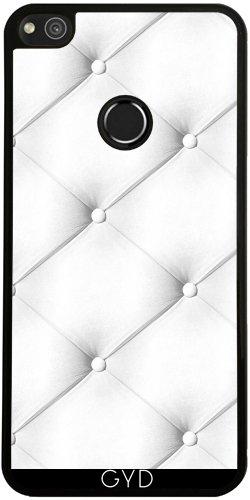 Funda de silicona para Huawei P8 Lite 2017 - Cuero Acolchado Blanco by wamdesign