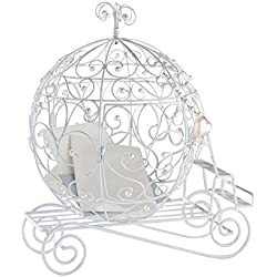 Lillian Rose Elegant Fairy Tale Coach Wedding Card Box