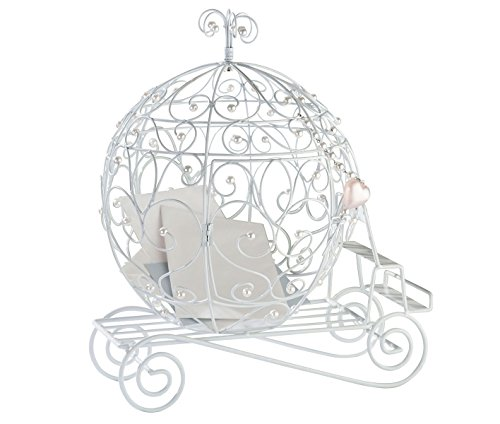 Lillian Rose Elegant Fairy Tale Coach Wedding Card Box