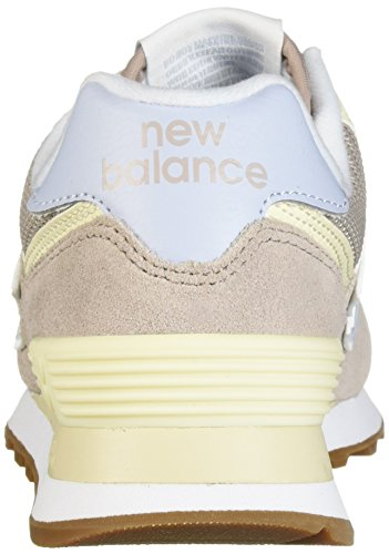 Femme Balance White WL574 New Baskets EU Flat 36 FLC Alabaster Ice Blue Rose Rd1qtqOxrw