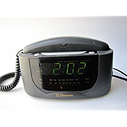 Emerson AM/FM Clock Radio with Telephone CKT9008